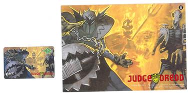 P&J Promotions Judge Dredd Series 1 number 8