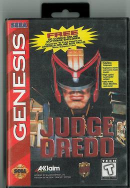 Genesis: Judge Dredd