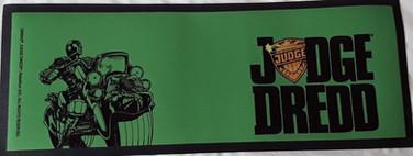 Judge Dredd Case Files Bar Runner