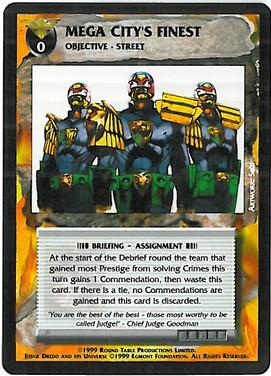 Dredd CCG: Events - Mega City's Finest