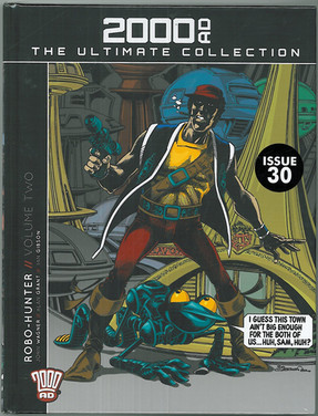 2000ad The Ultimate Collection: Robo-Hunter Volume Two
