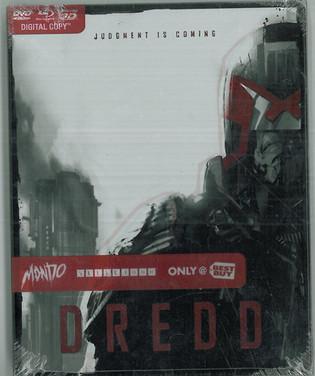 Dredd 2012 Blu-Ray Mondo Steelbook from Best Buy