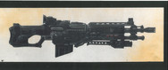 Judge Dredd 1995 Judge Hunter's Rifle Studio Print