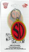 Strontium Dog Badge Keyring