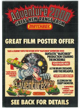 Matchbox Adventure 2000 Advert