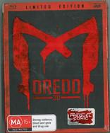 Dredd 2012 Blu-Ray Mondo Limited Cover