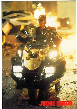 Judge Dredd Movie Postcard