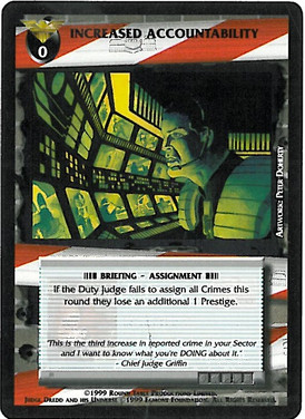 Dredd CCG: Incidents - Increased Accountability