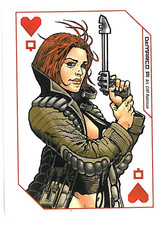 Playing Cards Megazine: Queen of Hearts