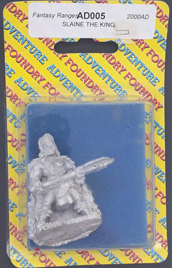 Wargames Foundry: AD5 Slaine The King
