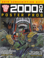2000ad  Poster Prog. Subscription 2019