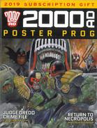 2000ad  Poster Prog. Subscription 2019