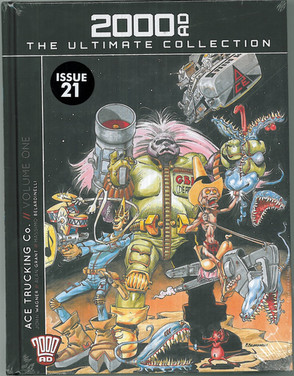 2000ad The Ultimate Collection: Ace Trucking Volume One