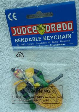 Judge Dredd Keychain