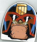 Judge Dredd Magnet