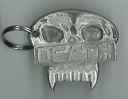 2000ad Judge Death Badge Keyring