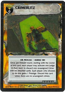 Dredd CCG: Events - Crimeblitz