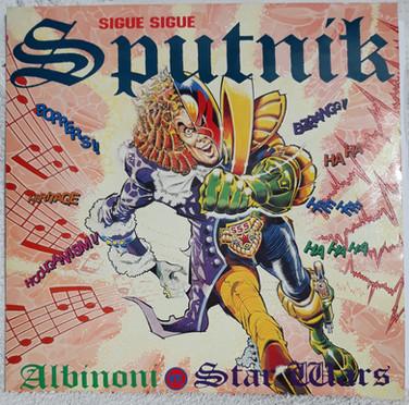 Sigue Sigue Sputnik: Albinoni vs Star Wars 12 Inch