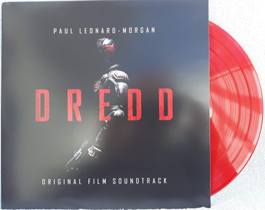 Judge Dredd 2012 Soundtrack Red Vinyl