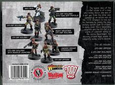 Mongoose: Boxset Citi-Def Squad Rear