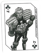 Playing Cards Megazine: Four of Clubs