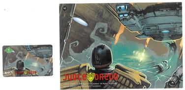P&J Promotions Judge Dredd Series 1 number 10