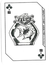 Playing Cards Megazine: Six of Clubs