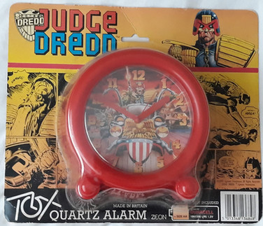 Judge Dredd Desk Clock