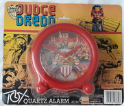 Judge Dredd Desk Clock