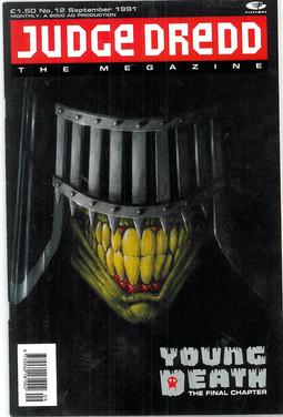 Judge Dredd Megazine Vol 1 Number 12