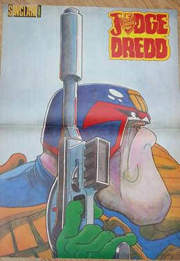 Judge Dredd Sinclair User Magazine Poster