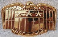 Dark Matter Replica: Judge Dredd Belt Buckle