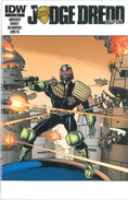 Judge Dredd 1 Subscription Cover
