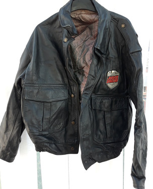 Judge Dredd 1995 Film Leather Jacket