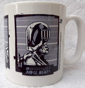 Judge Death Mug Shot Mug