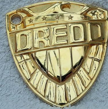 Termight Replicas: Judge Dredd Badge