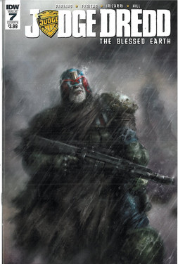 Judge Dredd Blessed Earth 7 Cover B