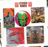 2000ad stickers given away with Prog 829