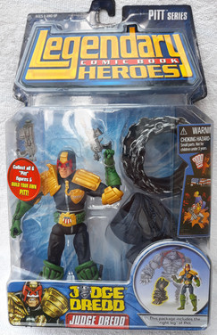 Legendary Heroes: Judge Dredd