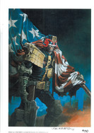 John Burns Judge Dredd Print