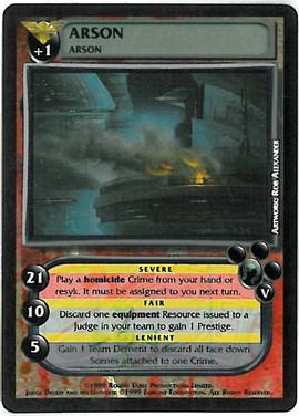 Dredd CCG: Crimes - Arson