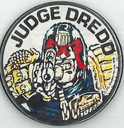 Judge Dredd Badge 1978