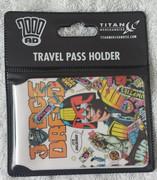 Travel Pass - Judge Dredd Delicious