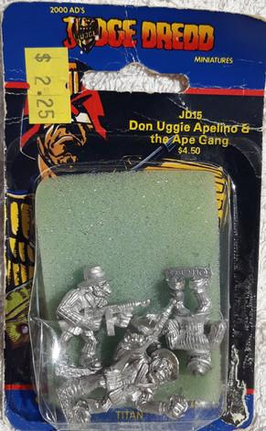 Citadel Blister Judge Dredd: JD15 Don Uggie Apelino and the Ape Gang