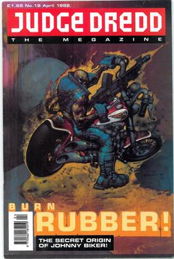 Judge Dredd Megazine Vol 1 Number 19