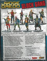 Warlord: Judge Dredd Block Gang Rear