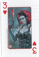Playing Cards SFX: Three of Hearts