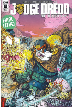 Judge Dredd Blessed Earth 8 Cover B