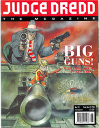 Judge Dredd Megazine Vol 2 Number 21