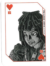 Playing Cards Megazine: Six of Hearts